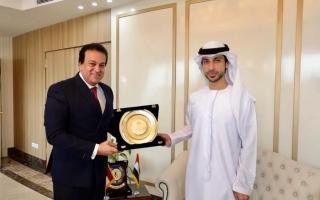 الصورة: وزير التعليم العالي المصري: العلاقات المصرية - الإماراتية متميزة بكافة المجالات