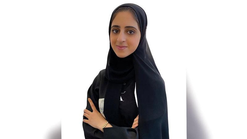 المازمي: «سعدت جداً باختياري لأكون الإماراتية الوحيدة التي وصلت إلى المرحلة النهائية».
