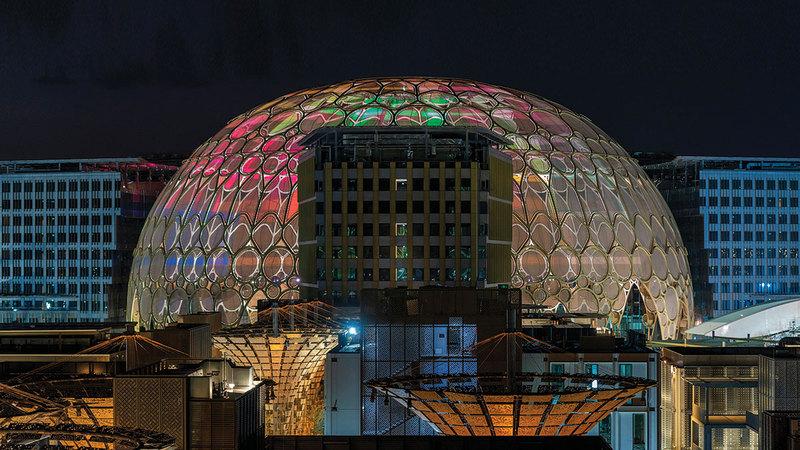 «إكسبو 2020 دبي» أول معرض «إكسبو» عالمي ينظم في المنطقة.    أرشيفية