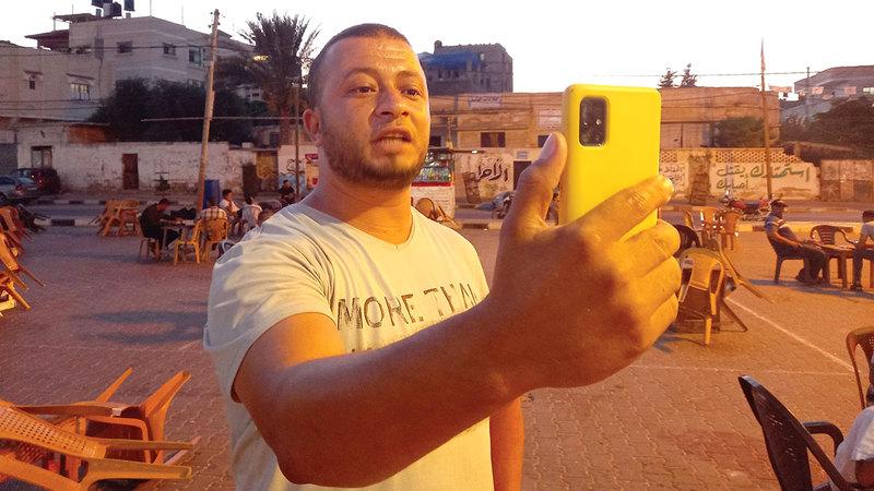 الشاب إبراهيم بربخ  من المصدر