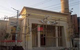 الصورة: مسجد على الطراز الفرعوني يثير الجدل والاوقاف المصرية تتدخل