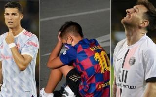 """الصورة: رونالدو """"غاضب"""" ميسي """"مضغوط"""" وجمهور برشلونة """"مقهور""""!"""