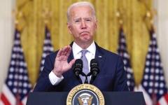 الصورة: الرئيس الأميركي ينسى اسم رئيس وزراء أستراليا