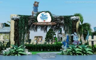 الصورة: «القرية العالمية»: بيتر رابيت الشخصية الكرتونية العالمية قادم إلى دبي