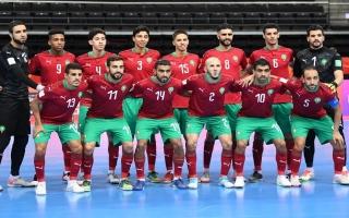 """الصورة: """"نقطة"""" تفصل المغرب عن تأهل تاريخي في مونديال ليتوانيا لكرة الصالات"""