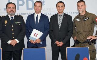 الصورة: من هو الشاب الأردني الذي عُيّن مديرا لأمن الدولة والاستخبارات في النمسا ؟ صور