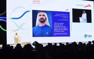 الصورة: «طرق دبي» تنظم مؤتمراً عالمياً يستقطب 1500 زائر من 60 دولة نوفمبر المقبل