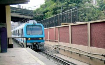 الصورة: حالة انتحار جديدة تحت عجلات مترو القاهرة