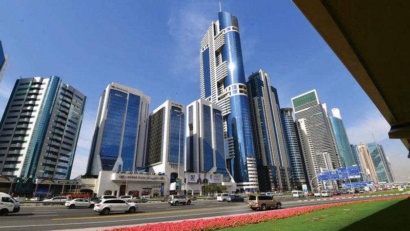 العائد الاستثماري العقاري في دبي مرتفع مقارنة ببقية المدن.  تصوير: باتريك كاستيلو
