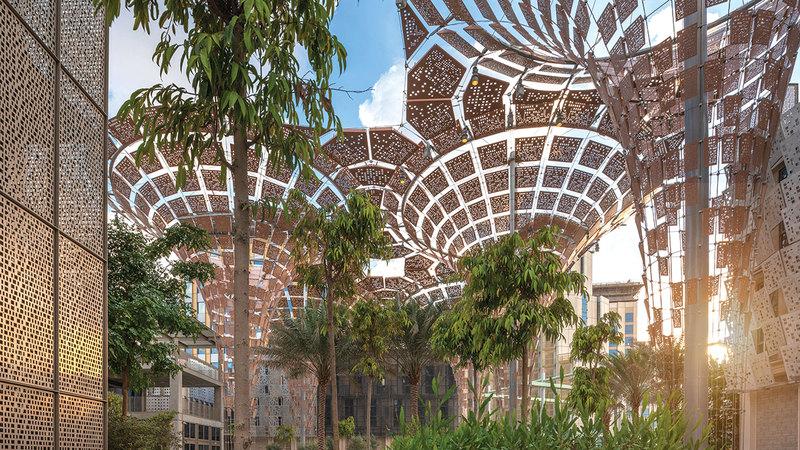 «القمة العالمية للاقتصاد الأخضر» ستعقد في موقع «إكسبو 2020 دبي».  أرشيفية