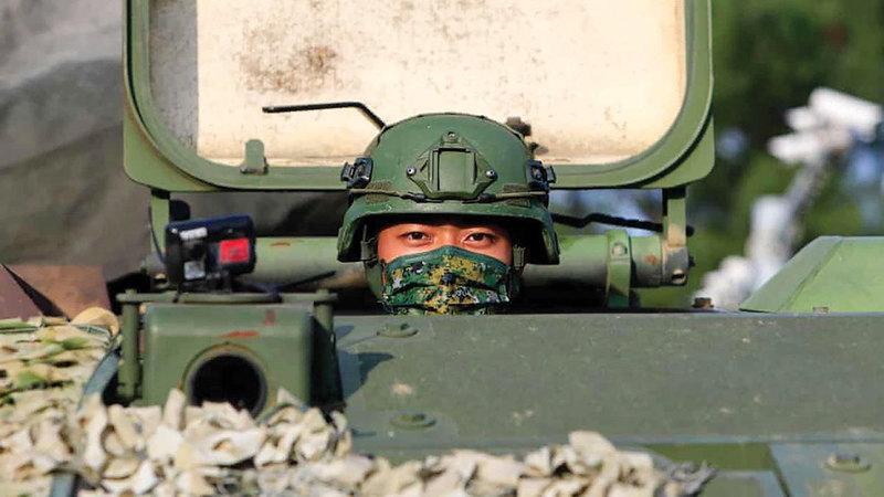 حرب باردة تلوح في الأفق بين الصين وأميركا وأستراليا والمملكة المتحدة.  غيتي