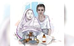 الصورة: متبرعة تسدد 19.6 ألف درهم كلفة أدوية «أحمد» لمدة عام