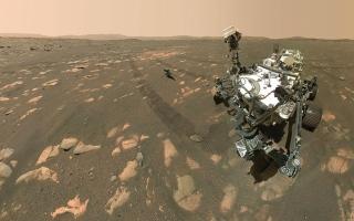 الصورة: مروحية «إنجينيوتي» على المريخ تزيد سرعة شفراتها مستقبلاً
