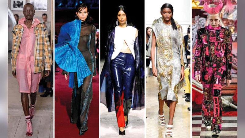 أسبوع الموضة في العاصمة البريطانية يحمل أملاً لقطاع الأزياء بعد رفع معظم القيود.    أ.ف.ب