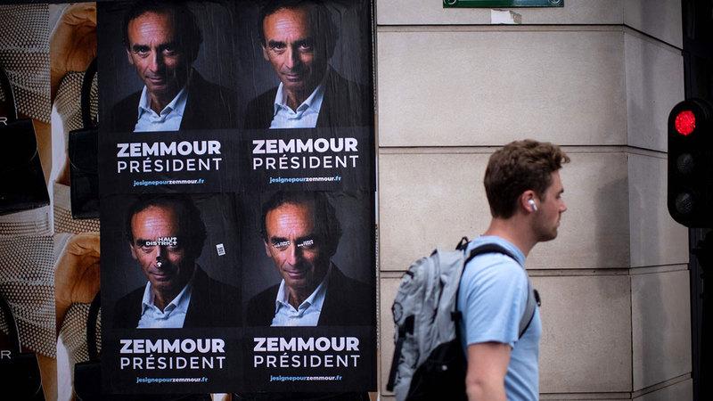 خَلط زمور أوراق السياسة الفرنسية بعزمه الترشح للرئاسيات.   أرشيفية