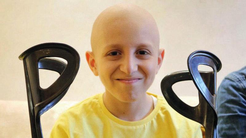 أحمد القواسمي: سأكون قوياً كما أوصاني والدي.   من المصدر