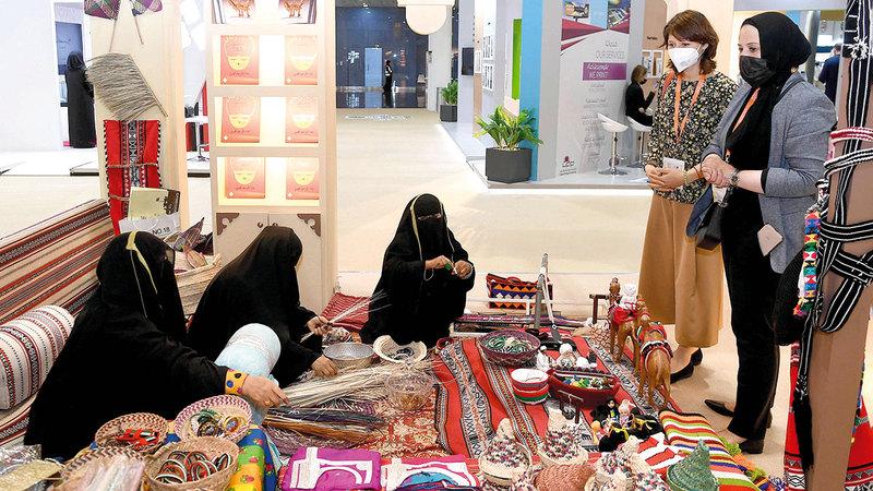 نادي تراث الإمارات يحرص على التواجد في المحافل الثقافية.    من المصدر