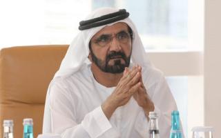 الصورة: محمد بن راشد يصدر قانون إنشاء مجلس دبي لأمن المنافذ الحدودية