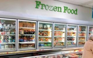 الصورة: الأطعمة المجمّدة في بريطانيا مهدّدة بسبب نقص ثاني أكسيد الكربون