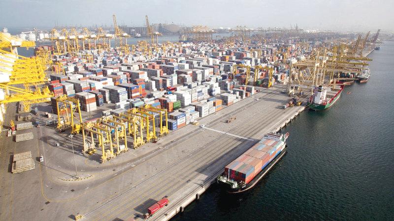 الصادرات الإماراتية غير النفطية بلغت أكثر من 254.6 مليار درهم خلال 2020.  أرشيفية