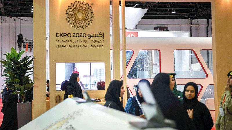 تخصيص جناح للمرأة في «إكسبو 2020 دبي» يجسد اهتمام قيادة وحكومة دولة الإمارات بها.  أرشيفية