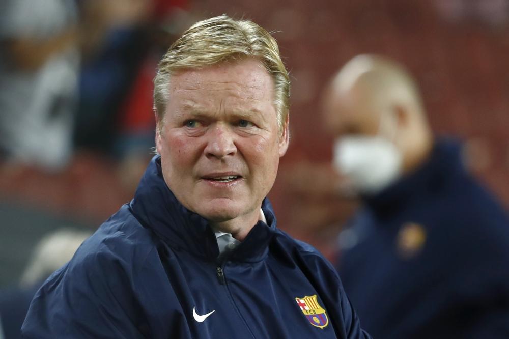 """صورة كومان يدافع عن نفسه.. ويؤكد """"برشلونة لم يعد كما كان"""""""