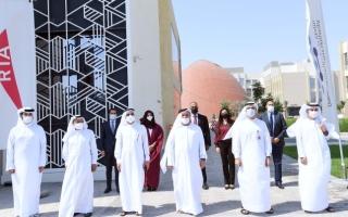 الصورة: إجراء الاختبارات النهائية لتحدي دبي العالمي للتنقل ذاتي القيادة
