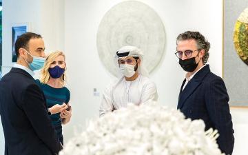 الصورة: 10  فنانين في معارض «فاوندري» بوسط مدينة دبي