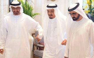 الصورة: محمد بن راشد ومحمد بن زايد: الإمارات والسعودية علاقات أخوية واستراتيجية راسخة