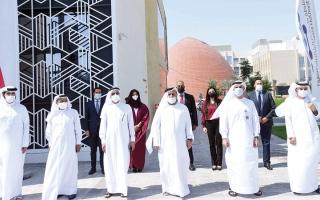الصورة: اختبارات لـ «درون» ووسائل نقل ذاتية   القيادة استعداداً لـ «تحدي دبي العالمي»