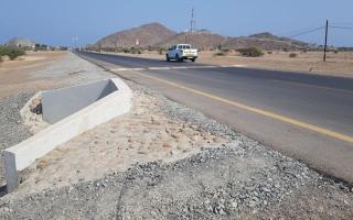 """الصورة: """"أشغال الفجيرة"""" تنتهي من انجاز طرق داخلية لـ12منطقة بالإمارة"""