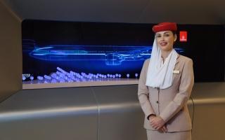 """الصورة: جناح """"طيران الإمارات"""" جاهز لاستقبال زوار """"إكسبو 2020 دبي"""" (صور)"""
