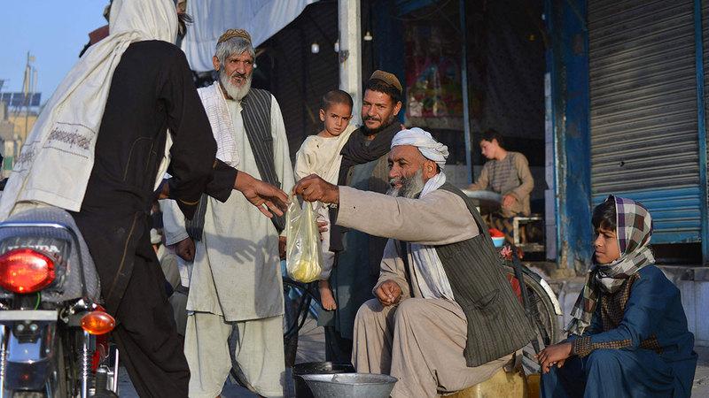 أفغانستان تعيش ظروفاً قاسية.  أ.ف.ب