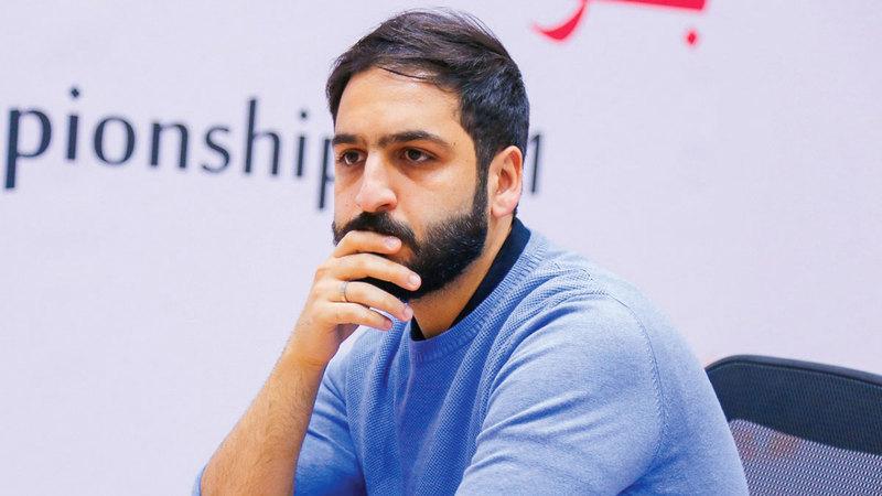 صورة سالم يتلقى الخسارة الأولى في «دولية الشارقة ماسترز للشطرنج»