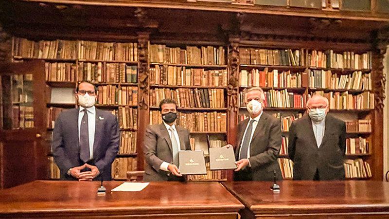 الاتفاقية ستتيح عرض المخطوطات للمرة الأولى رقمياً على مستوى العالم.  من المصدر