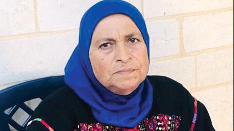 الفلسطينية اليمنية فاطمة بريجية.  الإمارات اليوم