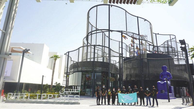 الفلبين أكدت أن مشاركتها في المعرض تعزّز جهودها بجذب الاستثمارات الأجنبية.من المصدر