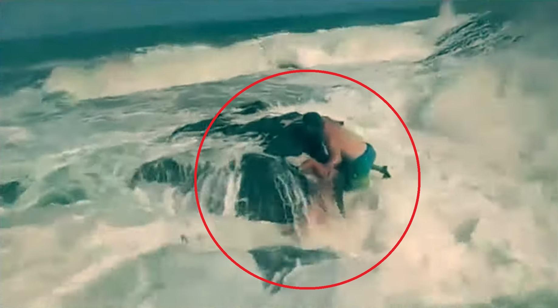 الزوج الشهم لقى مصرعه غرقاً خلال انقاذ الفتاة.