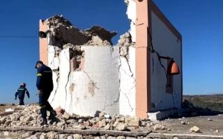 الصورة: لقطات مصورة توثق زلزال كريت المرعب.. فيديو