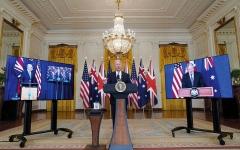 الصورة: محلل بريطاني: الفرنسيون محقون بشأن «الخيانة» الأميركية لكن هذا لا يكفي