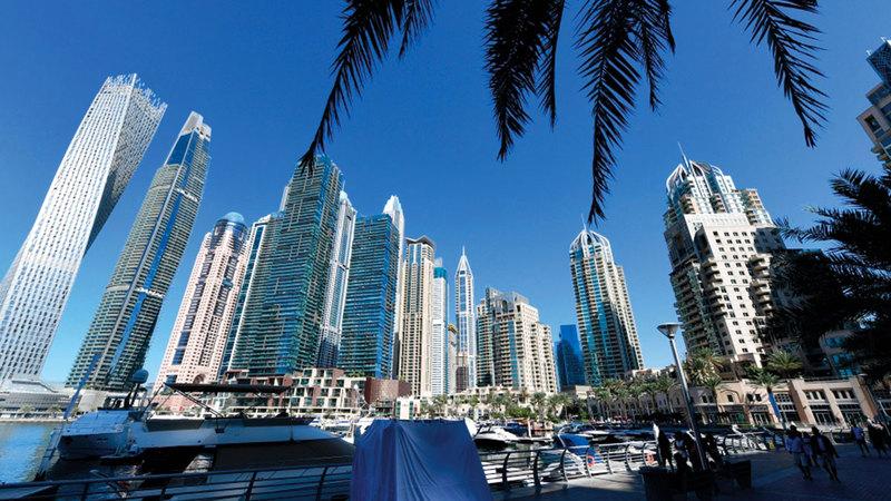 القطاع العقاري في دبي يقدم فرصاً استثمارية مغرية.   أرشيفية