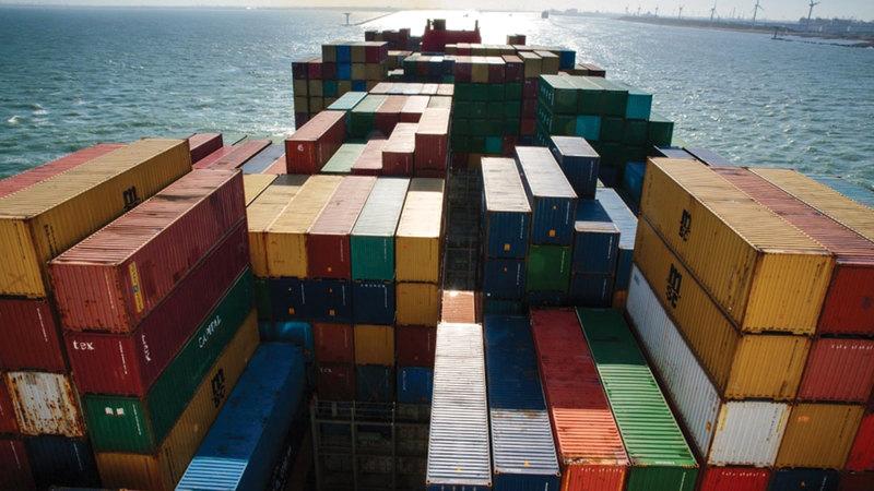 «الاتحاد لائتمان الصادرات» قدمت ضمانات لتمويل الصادرات «قبل الشحن وبعده» بـ1.1 مليار درهم.   أرشيفية