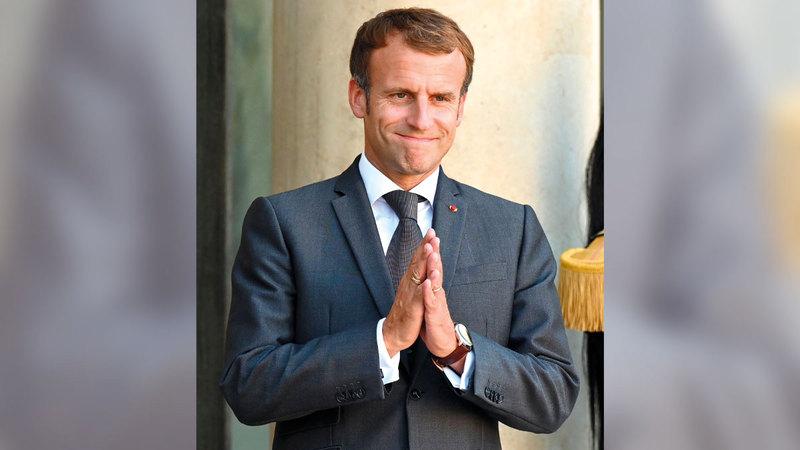 ماكرون أغضب برلين عندما وصف حلف «الناتو» بأنه ميت سريرياً.  غيتي