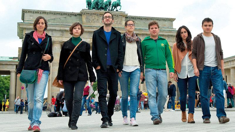 الشباب الأوروبي تأثر كثيراً جرّاء الوباء.   أرشيفية