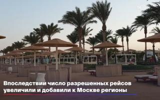 """الصورة: """"نحن نطير الى مصر"""".. فرحة السياح الروس بعودة الطيران.. فيديو"""