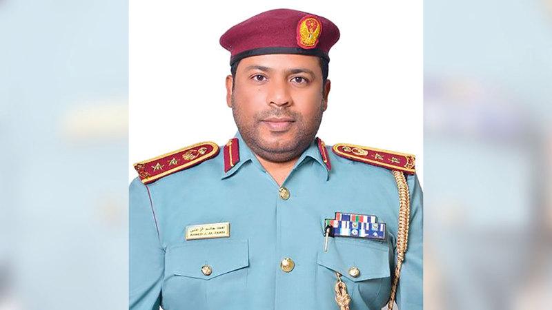 العقيد أحمد الزعابي: «البرنامج يركز على تأهيل وتدريب مخالفي قانون السير والمرور».