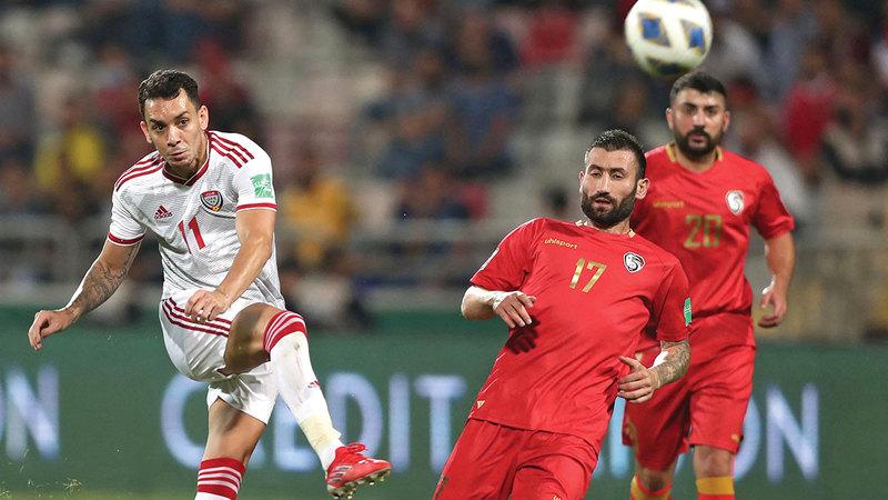 المنتخب لم يقدم المستوى المنتظر منه في مباراتي لبنان وسورية.  من المصدر