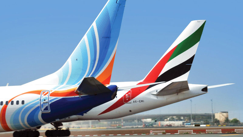 الرحلات ستكون ضمن «الرمز المشترك» مع «طيران الإمارات».  أرشيفية