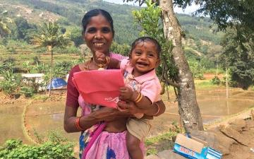 الصورة: «حقيبة ولادة» تنقذ ملايين الحوامل