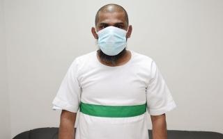 الصورة: متبرعان يساعدان «يوروشو» بـ 88.5 ألف درهم من إجمالي مبلغ الدية